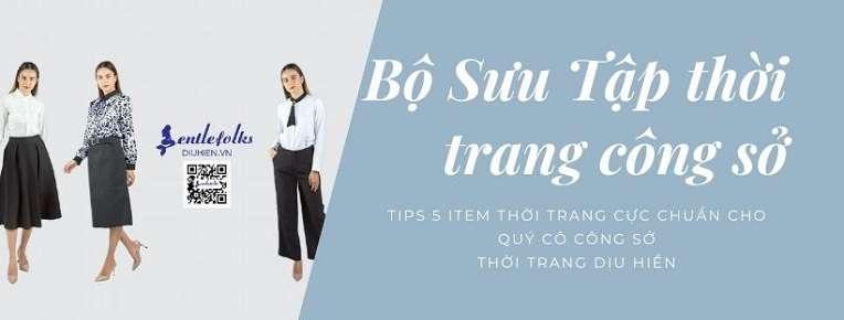 5 item thời trang cực chuẩn cho các quý cô công sở