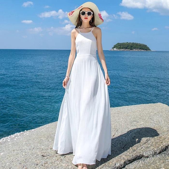Liệu có nên mặc váy maxi đi đám cưới không?