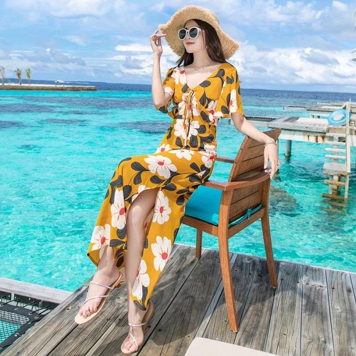 Cập nhật những mẫu váy đầm maxi dự tiệc đẹp nhất 2020