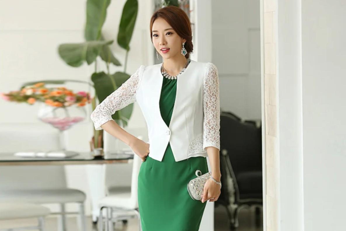 áo vest nữ chất liệu vải voan