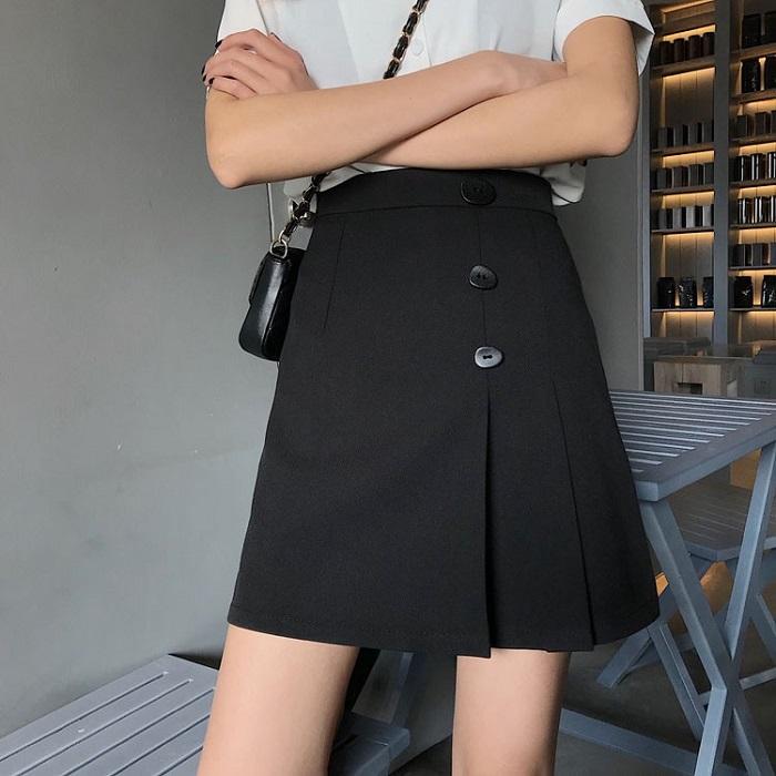 Chân váy công sở cao cấp chữ A