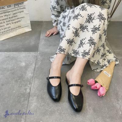 Mặc đầm maxi mang giày gì